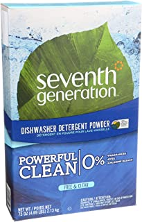 product image for Seventh Generation Free and Clear Dishwasher Detergent Powder 75 oz