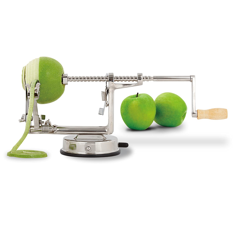 GreatGadgets Deluxe 1868 Apple Peeler Hardened Aluminium