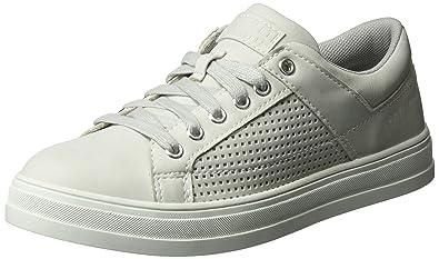 ESPRIT Damen Sidney Perf Lace Up Sneaker, Grau (Pastel Grey 050), 36 6445b0108b