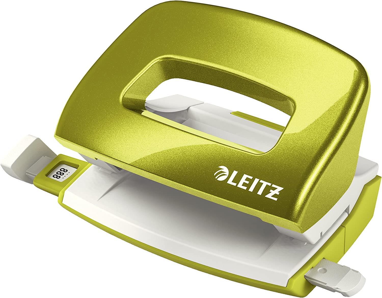 Leitz Hole Punch Guide Bar with Format Markings Wow Range 30 Sheets Metal