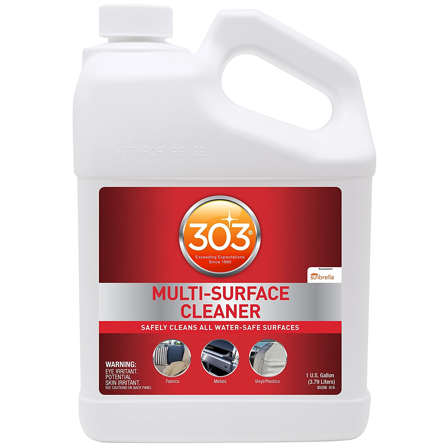 Amazon com 303 multi surface cleaner spray all purpose cleaner for home patio car care and outdoor 128 fl oz automotive