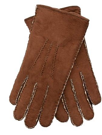 Farben und auffällig günstige Preise riesige Auswahl an EEM Damen Handschuhe LINA aus echtem curly Lammfell, mit natürlich  gewachsenem Lammfellfutter, luxus, handgenäht, premium, warm
