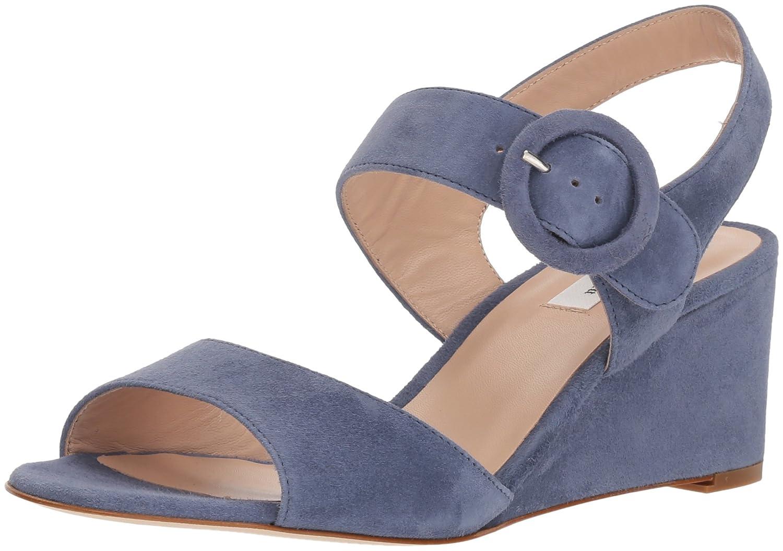 L.K. Bennett Women's Bailey Wedge Sandal B074JQZZ5F 35 Medium UK (4.5 US)|Blu-powder Blue