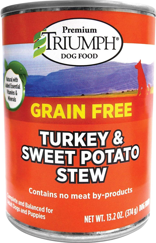 Triumph Grain Free Turkey & Sweet Pot Can Dog Food
