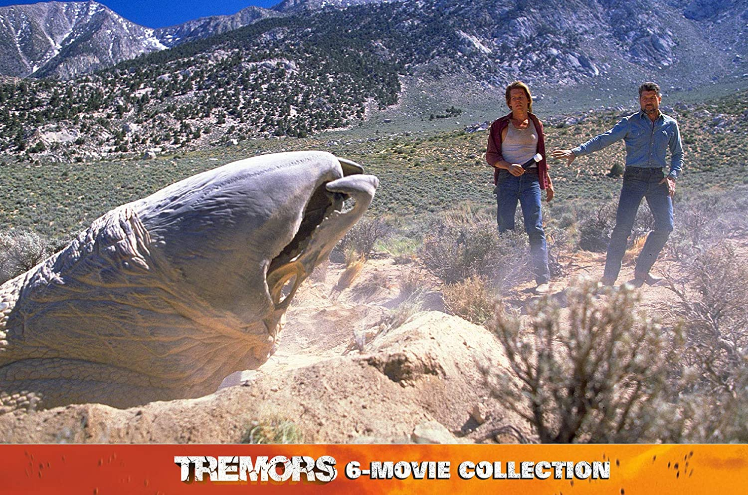 Tremors 6-Movie Collection Limited Steelbook Alemania Blu-ray ...