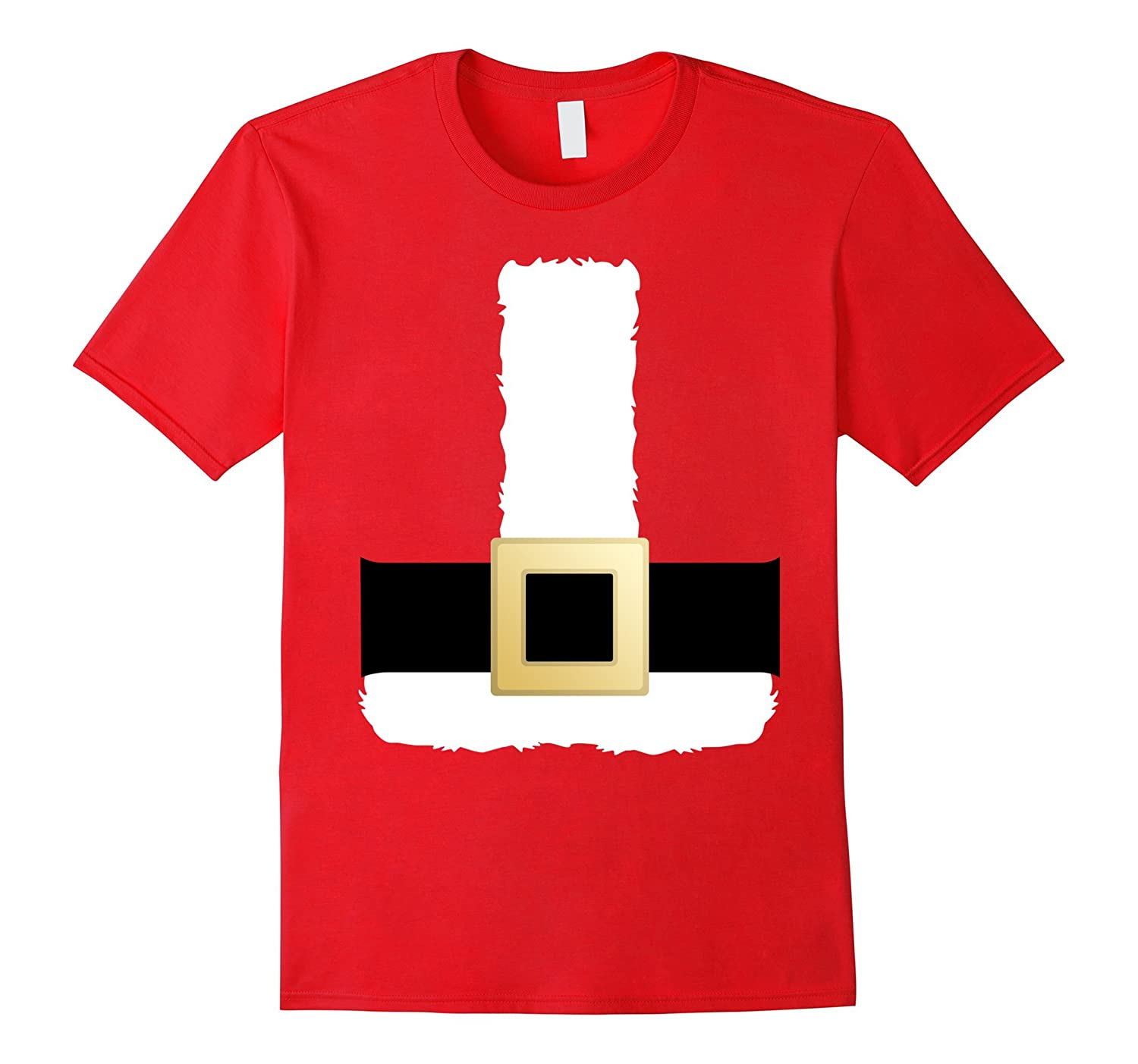 Santa Claus Costume Outfit Suit Christmas Shirt Men Women-FL