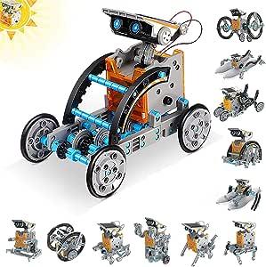 Amazon.com: Guffo 12 in 1 Solar Robot Kit, STEM ...
