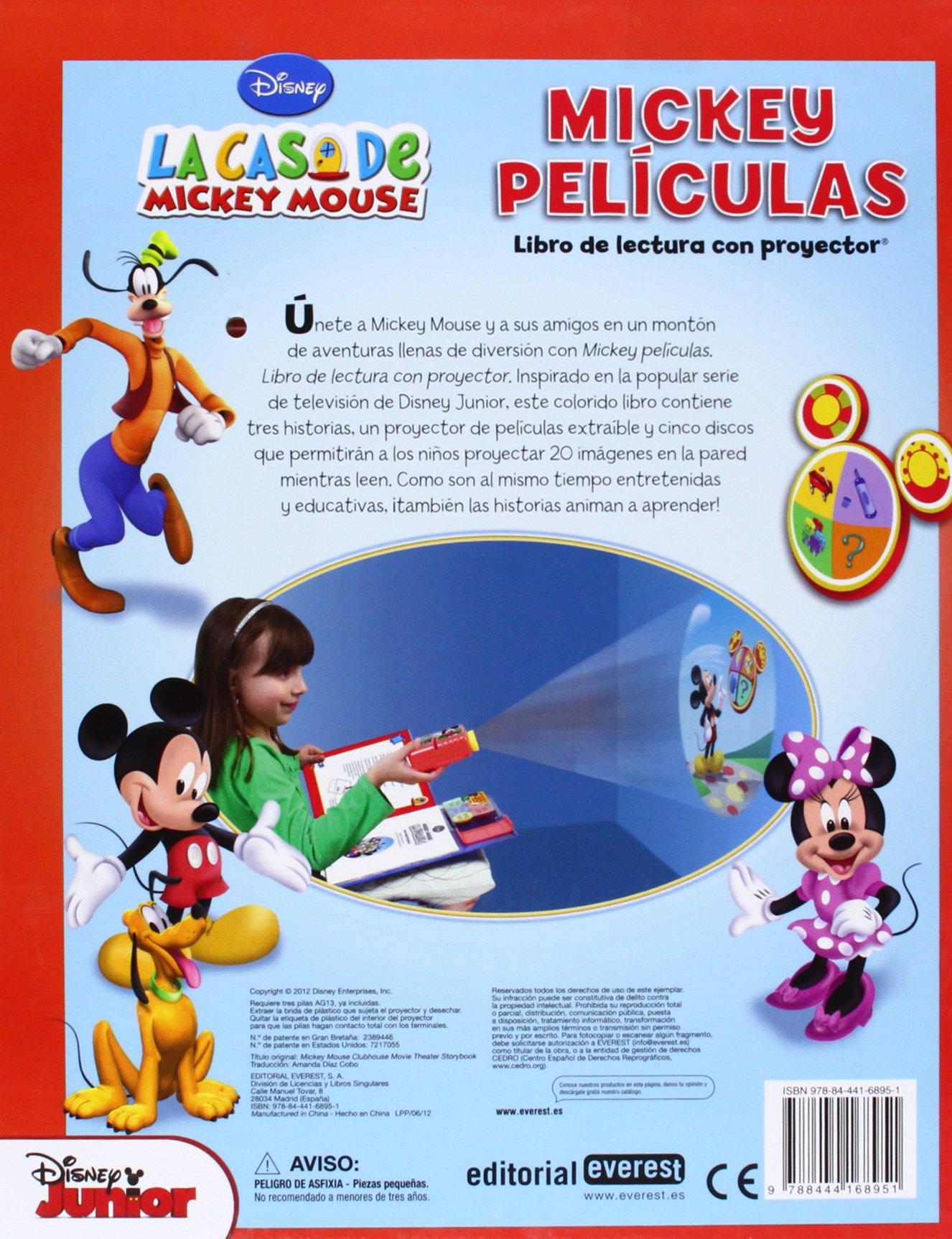 La casa de Mickey mouse. Mickey películas: 9788444168951 ...