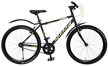 bc51f5cb8d027 Image Unavailable. Image not available for. Colour  Kross Bolt 26T Single  Speed Black Sports Bicycle