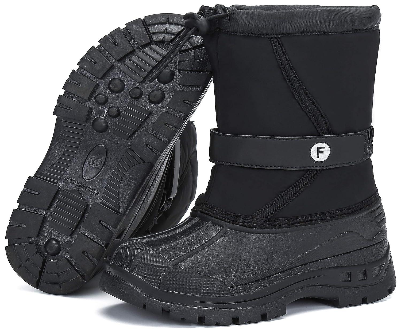 Mishansha Winterstiefel Jungen Warm Gef/ütterte Winter Schuhe M/ädchen Schneestiefel rutschfest Kinder Outdoor Stiefel Gr.26-40