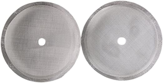 Washable Wire Mesh Filter Screen French Press coffee maker Strainer Dia.3.3 inch