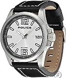 POLICE - Montre Homme Police Lancer Bracelet Cuir Noir Pl12591js-04 - Acier - 4,4 cm