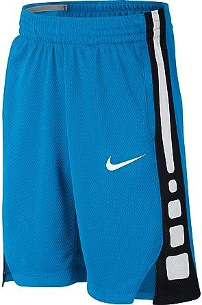 08919665491e Amazon.com  NIKE Boy s Dry Elite Stripe Basketball Shorts (Equator  Blue Black White