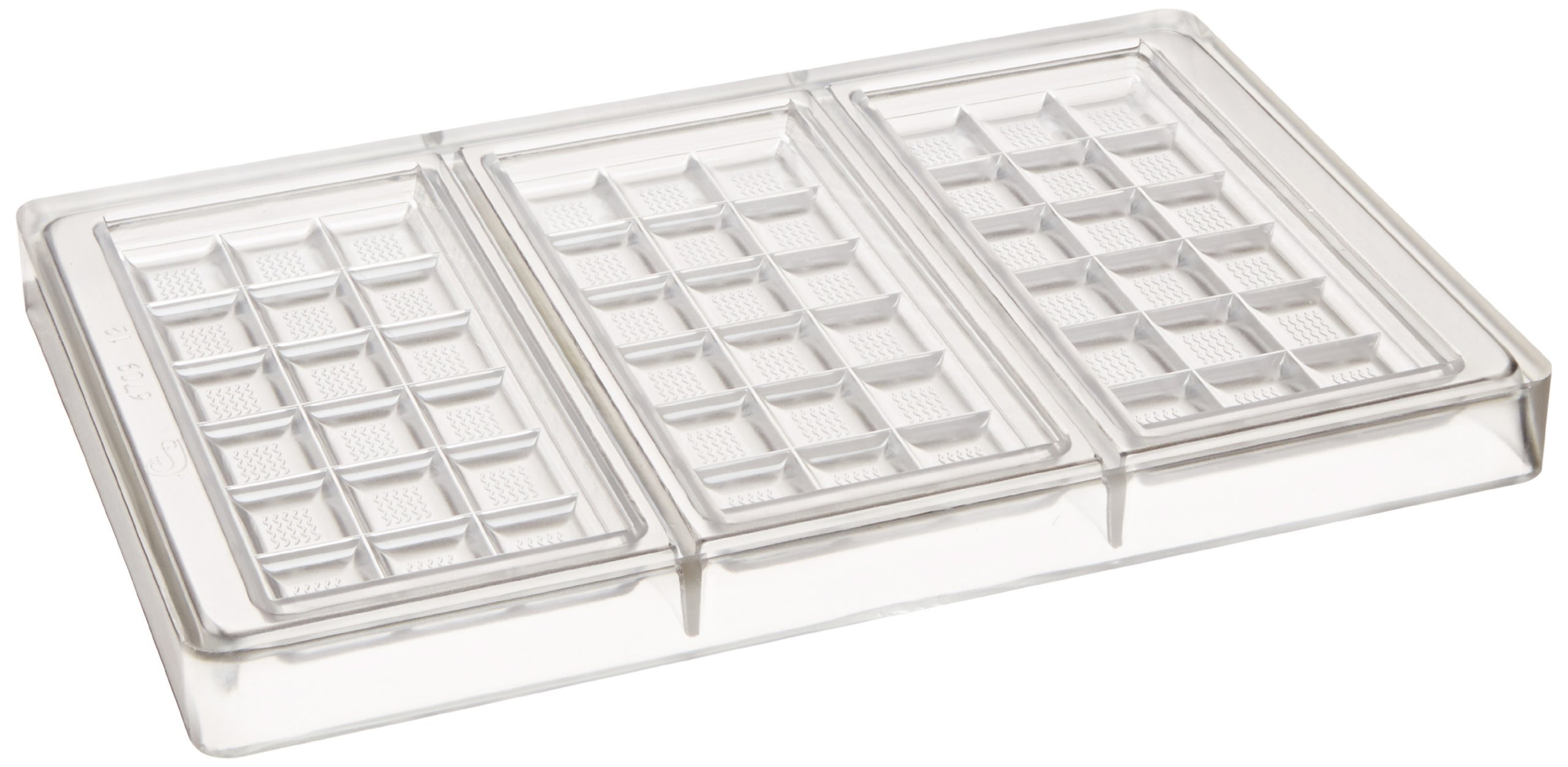 Matfer Bourgeat 380240 Poly Carbonate Chocolate Tablets Mold