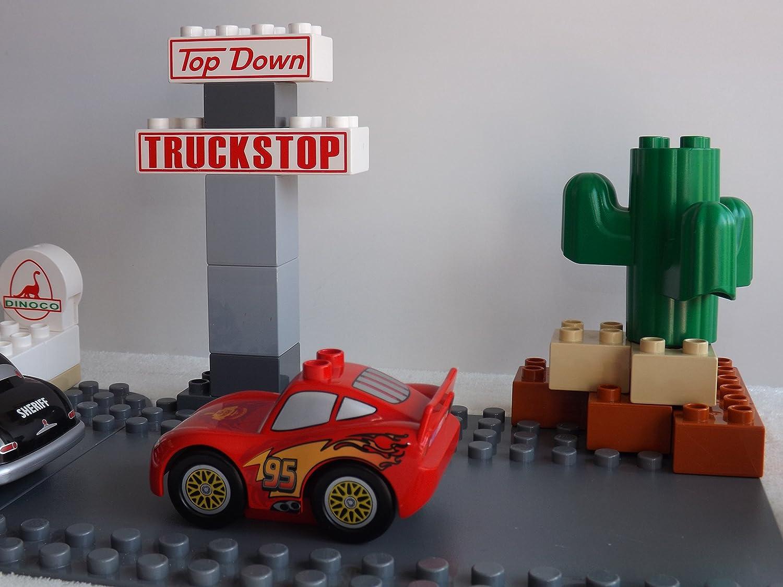 Lego 10745 Juniors Cars finale Floride 500 Race n9//17