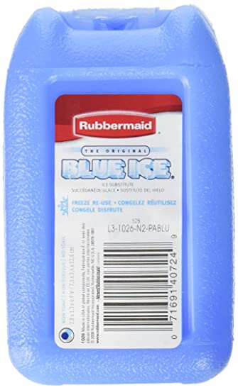 rubbermaid blue ice reusable ice packs mini single - Reusable Ice Packs
