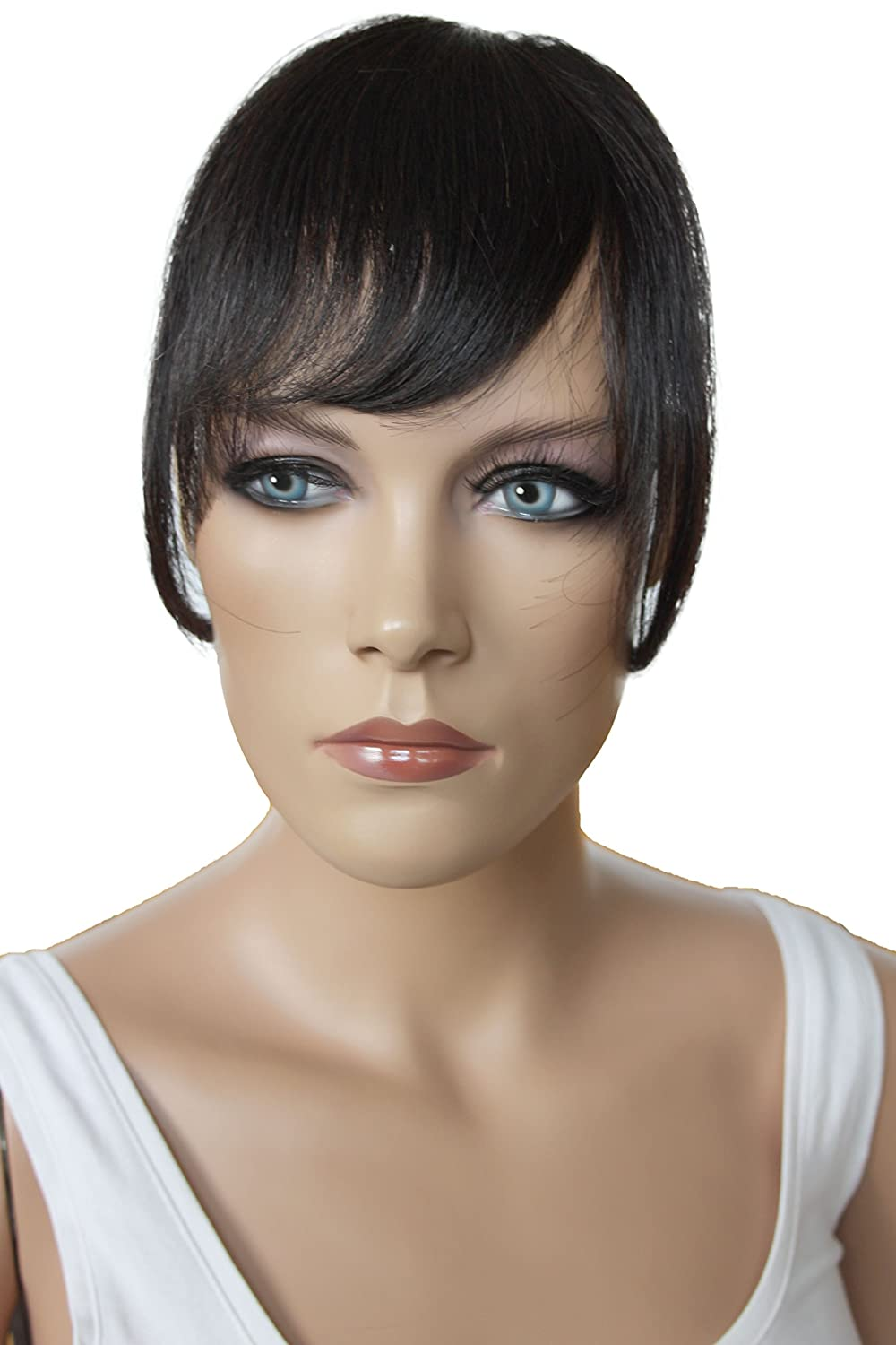 Prettyshop 100 Human Hair Clip In Bang Fringe Extensions Hairpiece