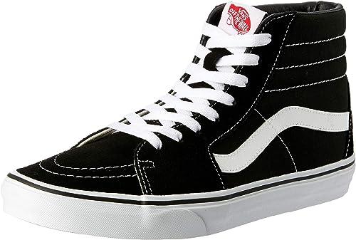 Vans Sk8-hi, Baskets Hautes Homme, Noir (Black Vd5ib8c ...