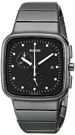 3be806801 Amazon.com: Rado Men's R28886182 R5.5 Analog Display Swiss Quartz ...