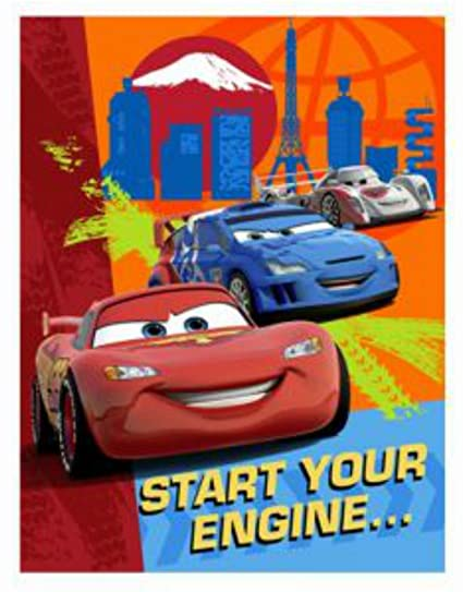 Amazon Disney Cars Lightning McQueen Party Invitations And
