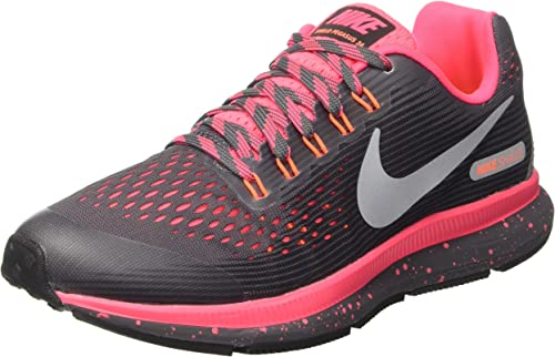 Nike Mädchen Zoom Pegasus 34 Shield (Gs) Laufschuhe