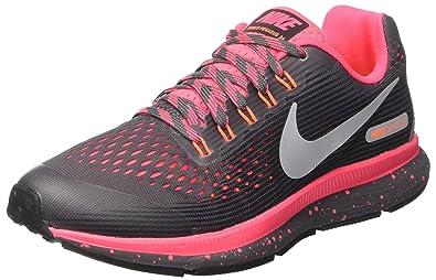 Nike Mädchen Zoom Pegasus 34 Shield (Gs) Laufschuhe: Amazon