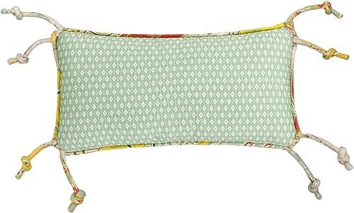 Echo Design Jaipur Normal Pillow, 9 x18 , Green