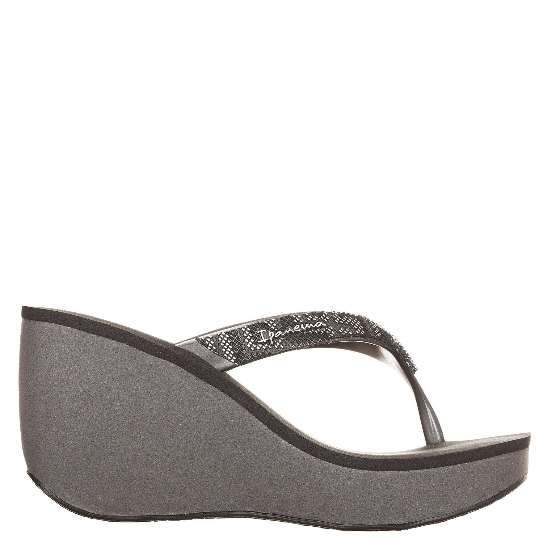f1b2e7d264a6 Ipanema Women s Thong Sandals Grey Grey Black Grey Size  7.5  Amazon.co.uk   Shoes   Bags
