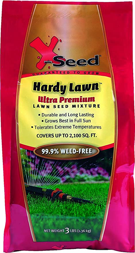 Amazon Com X Seed Ultra Premium Hardy Lawn Seed Mixture 3 Pound