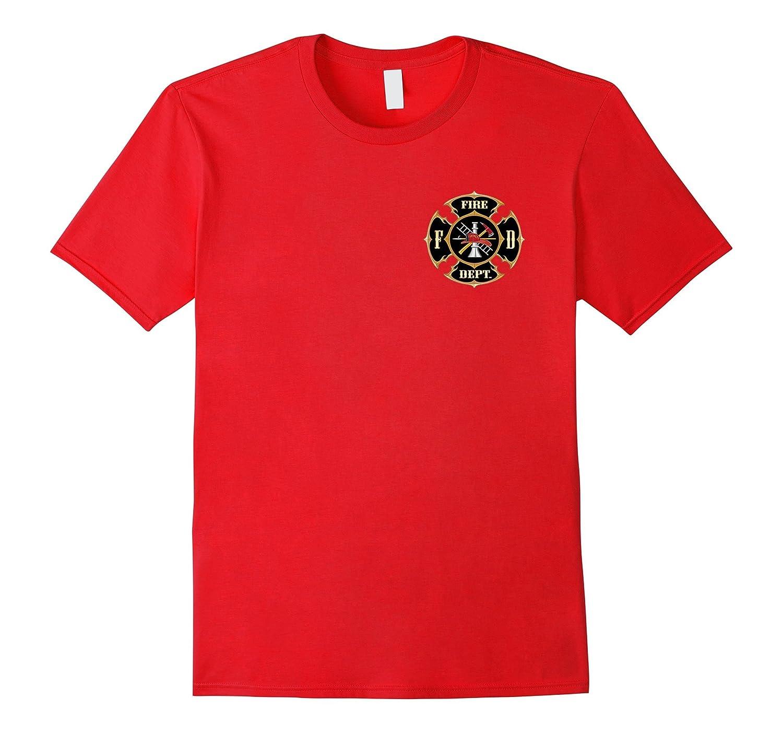 Fire Fighter TShirt, Firemen Tee, Fire Rescue tee.-FL