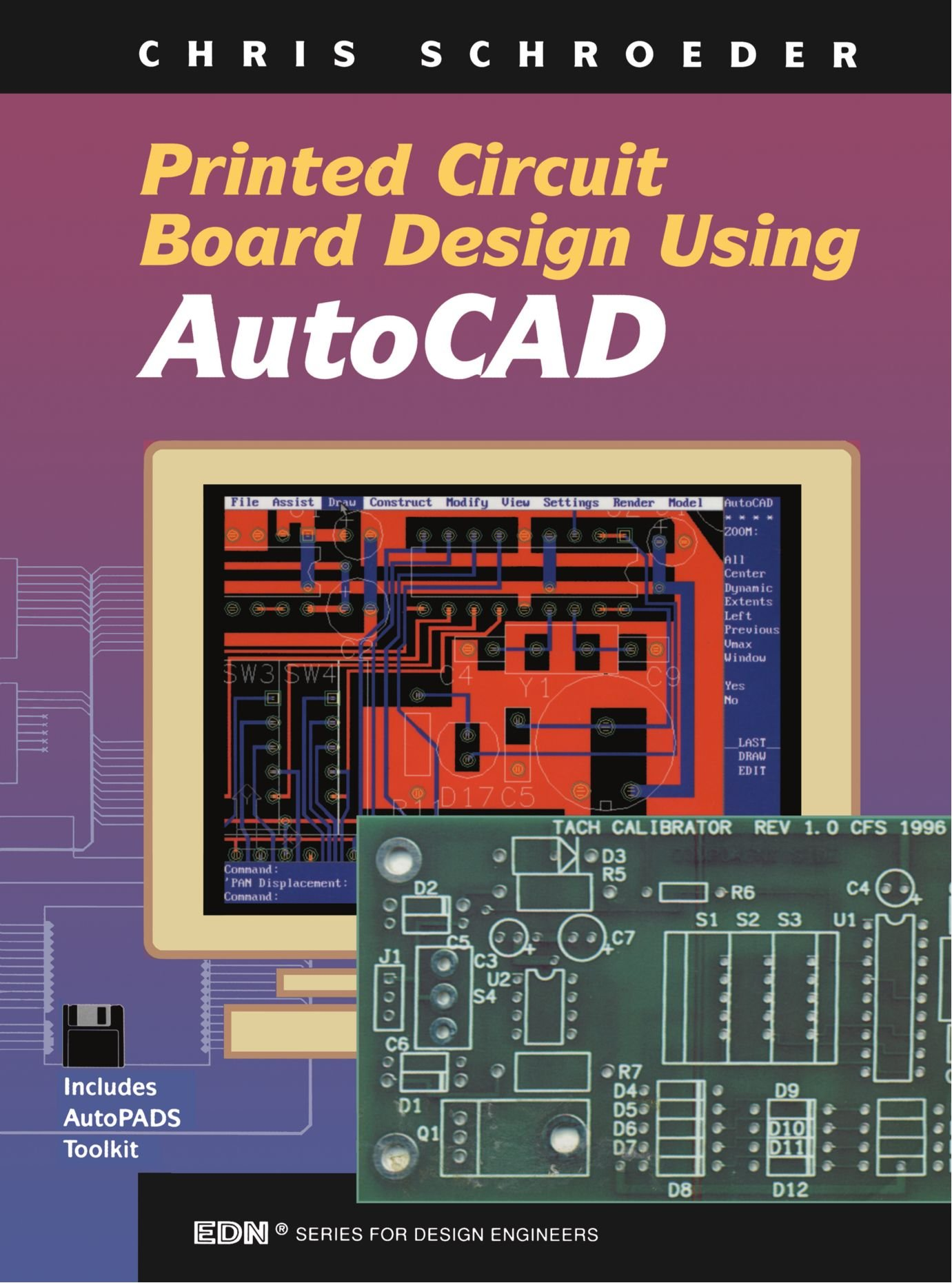 Pcb Design Using Autocad Edn Series For Engineers Chris Printed Circuit Board Process First And Schroeder 9780750698344 Books