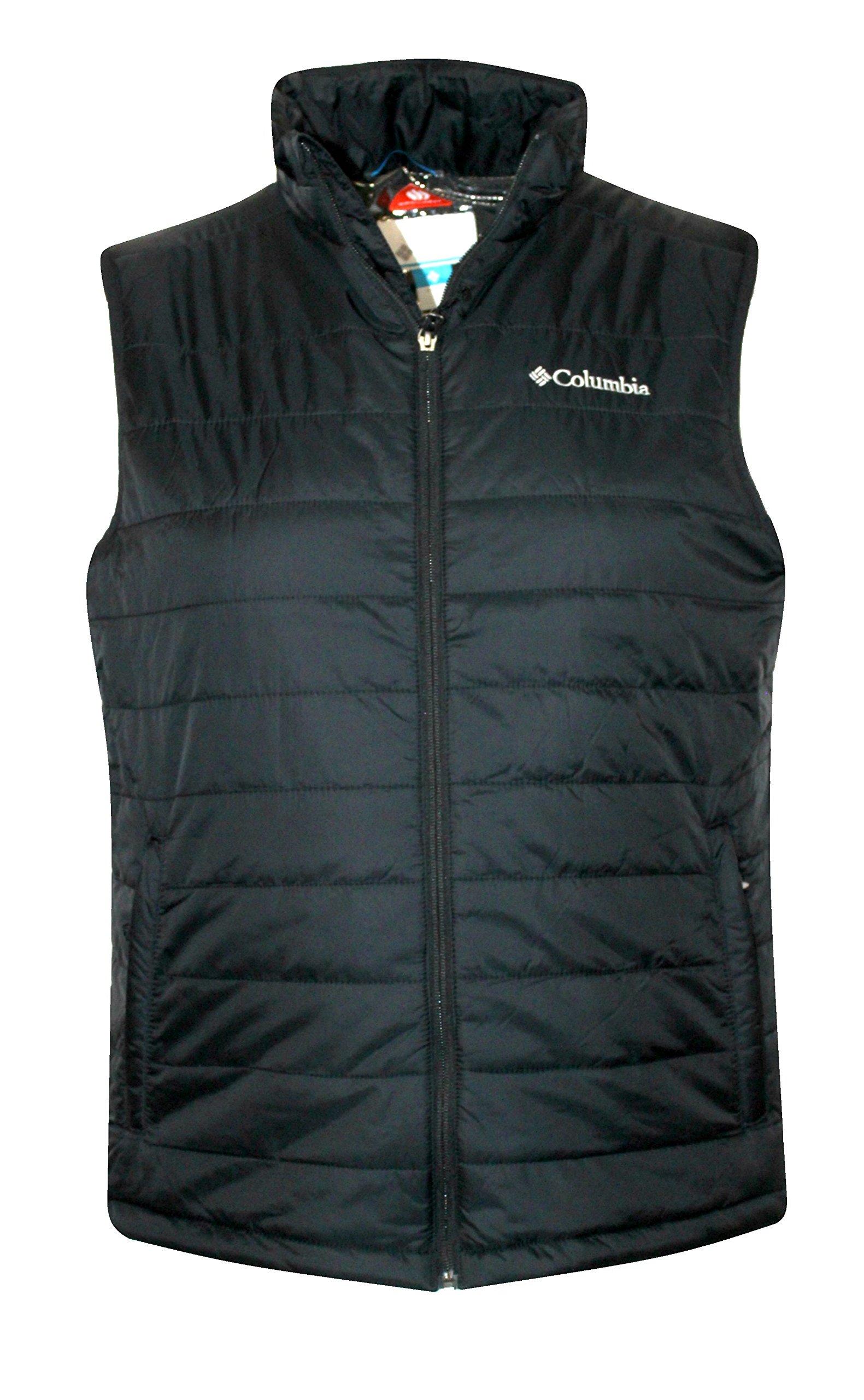 Columbia Crested Butte II OMNI HEAT Mens Vest, BLACK (L) by Columbia