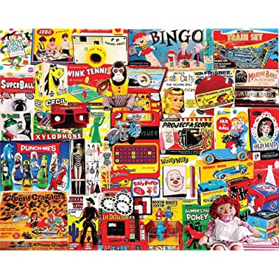 Puzzles I Had One of Those - 1000 Piece Jigsaw Puzzle-Adults 1000 Pieces Wooden-Jigsaw Puzzles Kids Toy DIY: Toys & Games