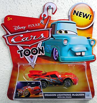 Disney Pixar Cars Toon - Tokyo Mater - Dragon Lightning McQueen with Oil Stains  sc 1 st  Amazon.ca & Disney Pixar Cars Toon - Tokyo Mater - Dragon Lightning McQueen ... azcodes.com
