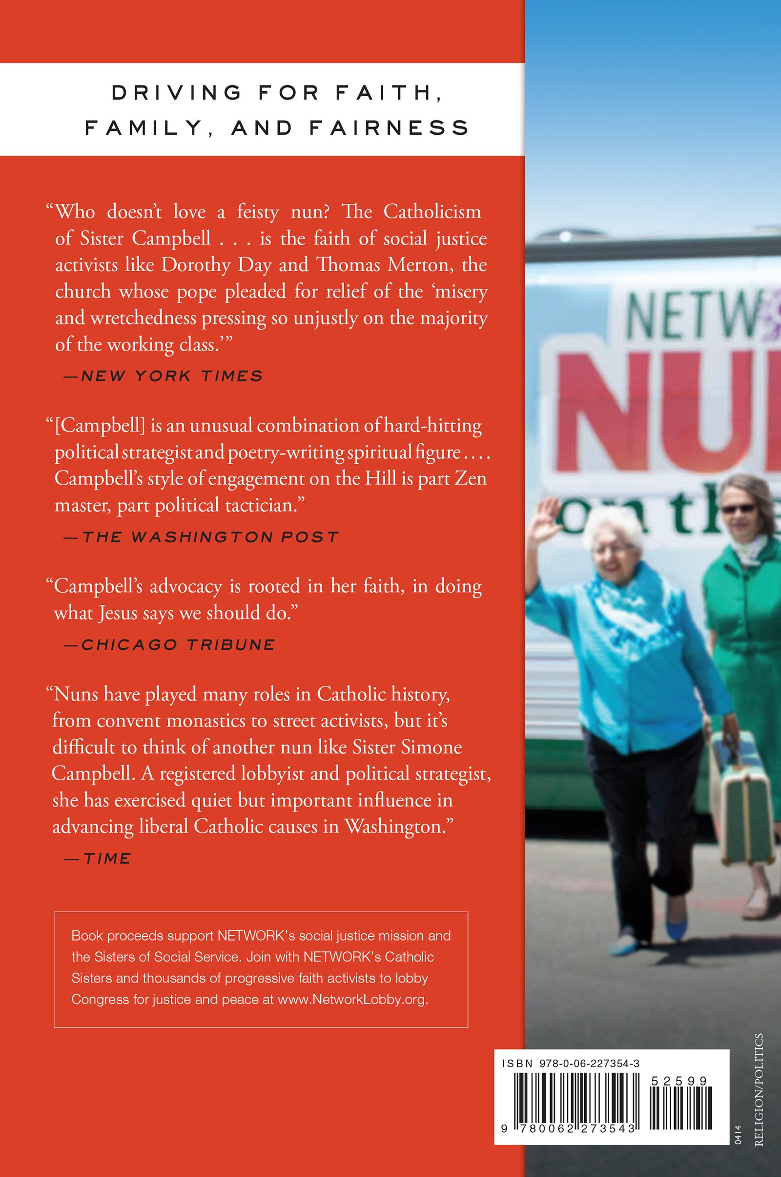 A Nun on the Bus: How All of Us Can Create Hope, Change, and Community:  Sister Sister Simone Campbell: 9780062273543: Amazon.com: Books