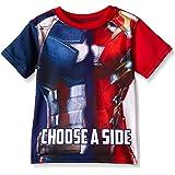 Marvel Boys' Civil War Choose Sides Tee