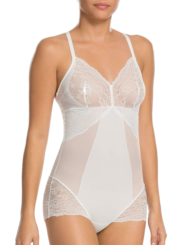 43afaba877 SPANX Women s Spotlight On Lace Bodysuit at Amazon Women s Clothing store