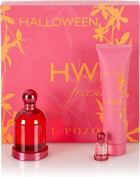 Jesus Del Pozo Halloween Fressia Eau De Toilette 100Ml Vapo. + Body Milk 150Ml + Mini: Amazon.es: Belleza