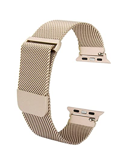 Prime Time Band with Mesh Replacement Straps –Compatible with Apple Watch, Smart Watches