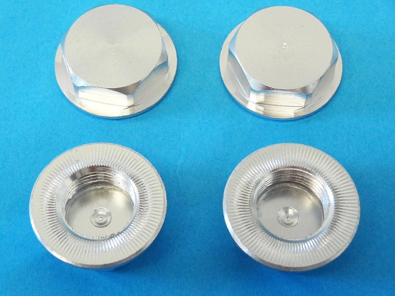 KM X2 Fits Rovan LT silver Rovan RC LT-SLT Enclosed CNC Aluminum Wheel Nuts set of 4 LOSI 5IVE-T SLT MINI