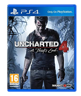 Amazon Com Uncharted 4 A Thief S End Ps4 Video Games