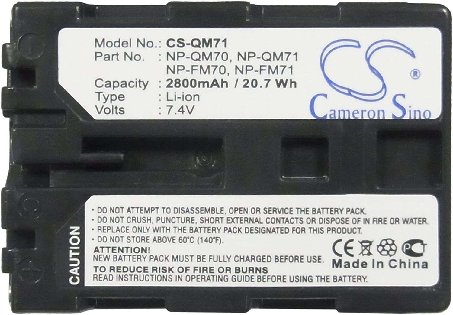 XPS Replacement Battery for Sony CCD-TRV108 CCD-TRV118 CCD-TRV128 CCD-TRV138 CCD-TRV308 CCD-TRV318 CCD-TRV328 CCD-TRV338 CCD-TRV608 DCR-DVD100