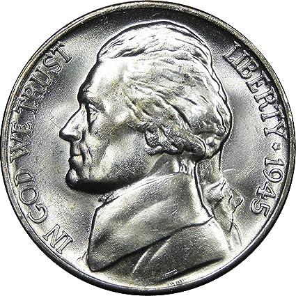 1991 D BU Jefferson Nickel Pulled From OBWRoll
