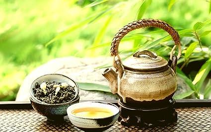 Asian tea art