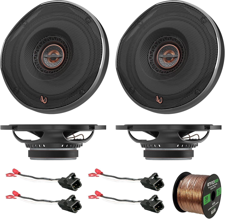 2 x Metra 72-5600 Speaker Adapter for Select Ford Vehicles 4 x Pioneer TS-G6820S 250W 6x8 2-Way Car Audio Speakers Enrock Audio 16-Gauge 50 Foot Speaker Wire 2 pairs
