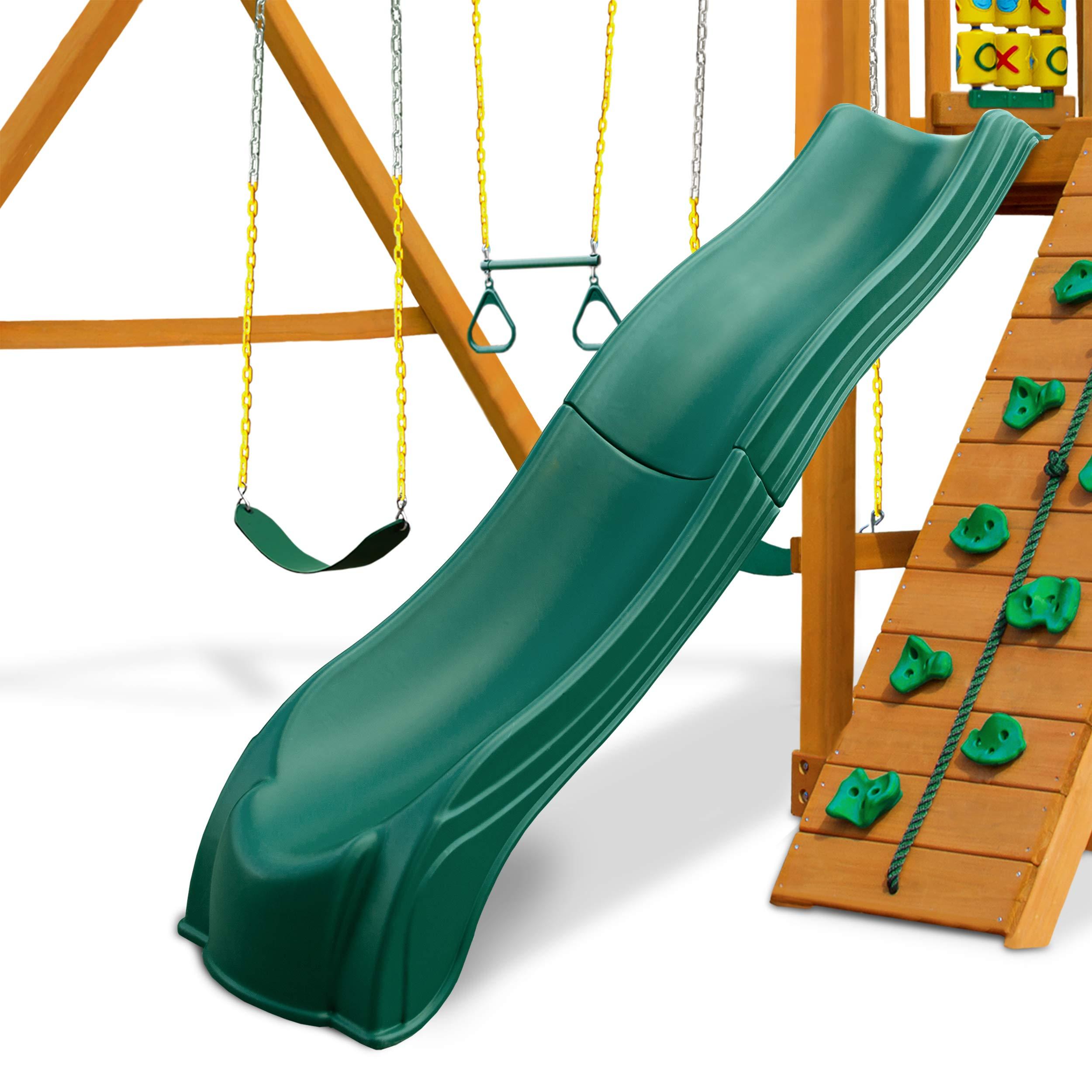 Swing-N-Slide WS 5033 Olympus Wave Slide Plastic Slide for 5' Decks, Green by Swing-N-Slide (Image #4)