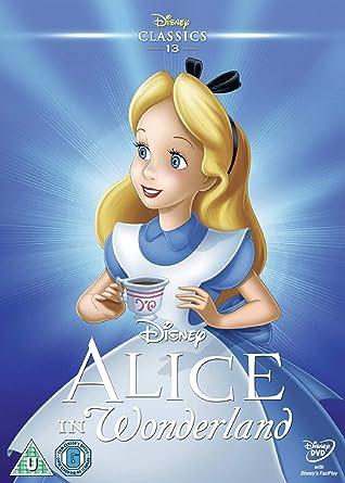 Alice In Wonderland [DVD]: Amazon co uk: Clyde Geronimi