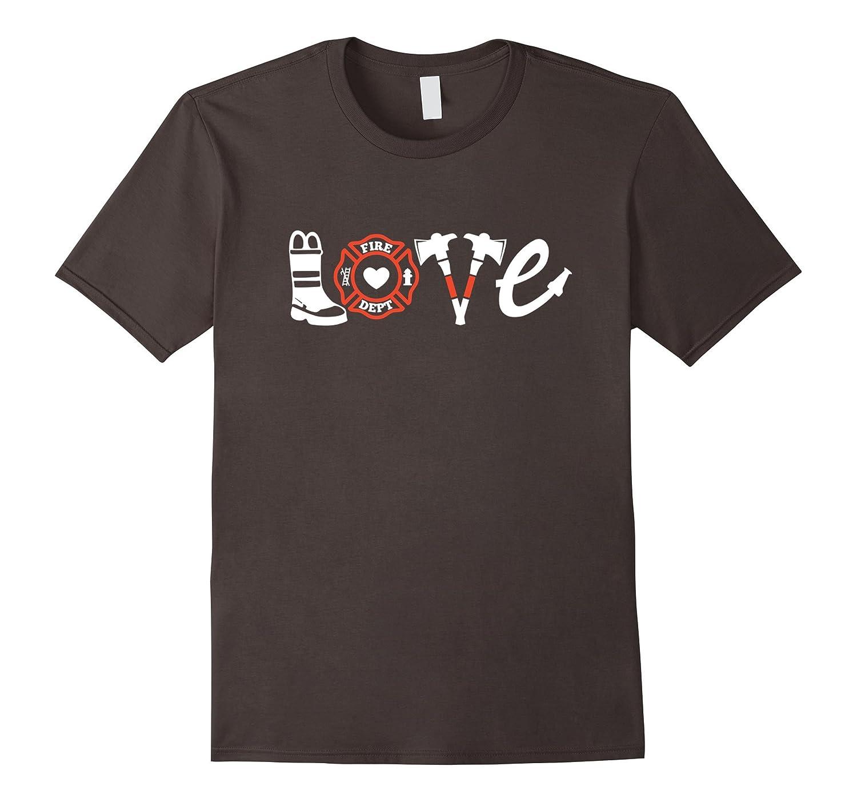 Firefighter Shirt- Love Firefighter Tee, Firefighter Gift-Newstyleth