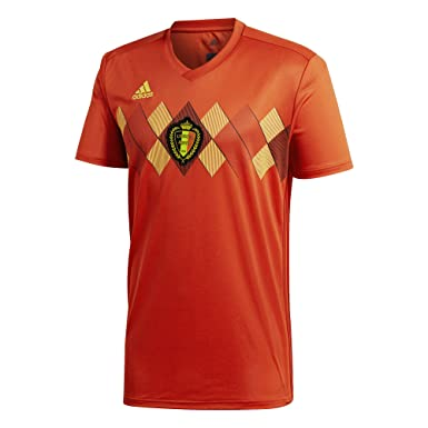 794425b34d8 Amazon.com: adidas Belgium Home Soccer Jersey World Cup 2018: Clothing