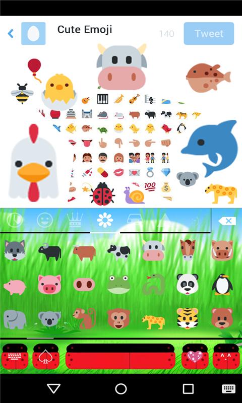 Emoji Keyboard for Twitter